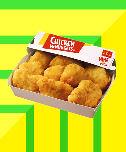 Mcdonalds Preservative Free Chicken McNuggets