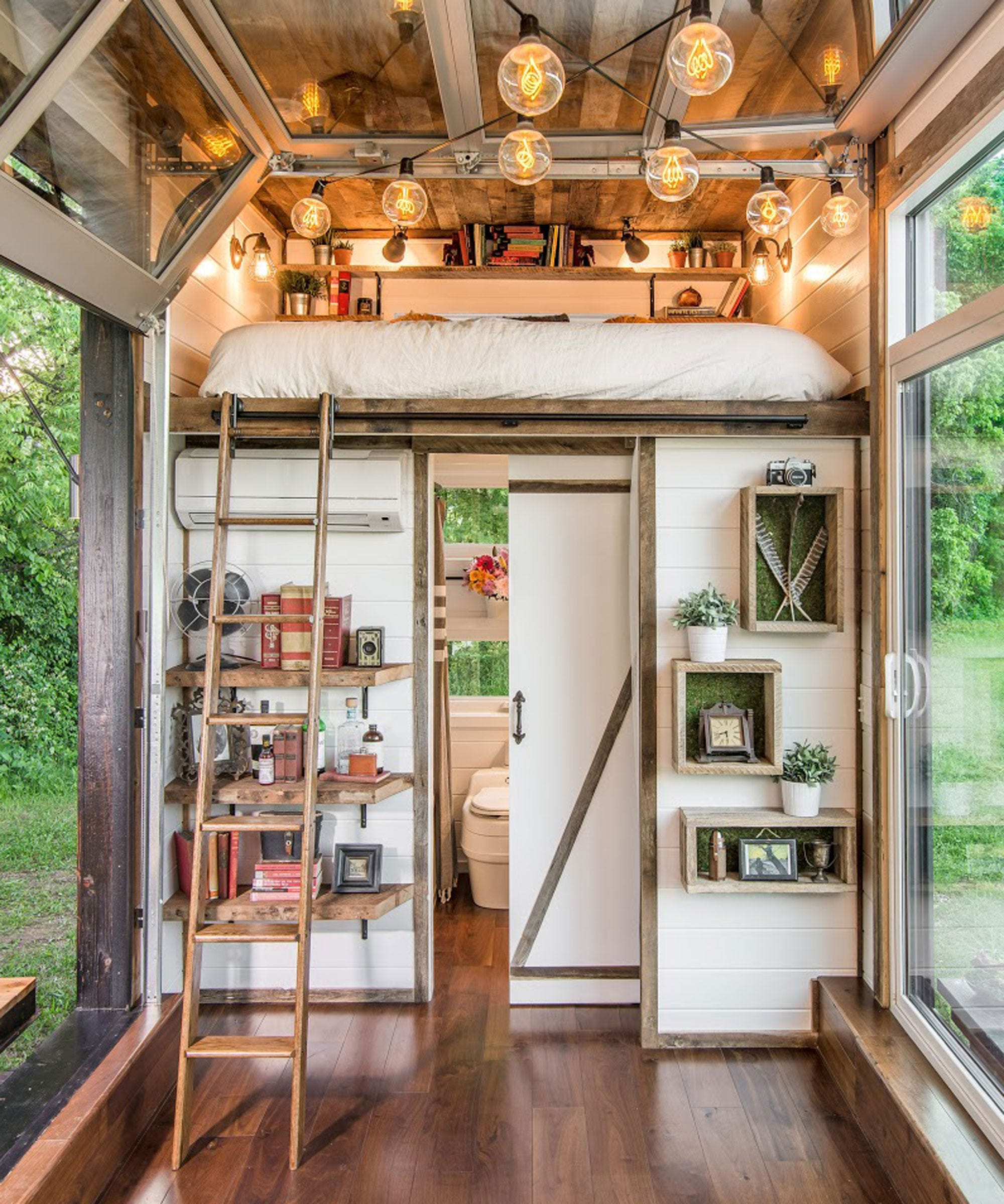 New frontier alpha tiny home for Tiny house interieur