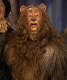 Real cowardly lion costume - photo#12