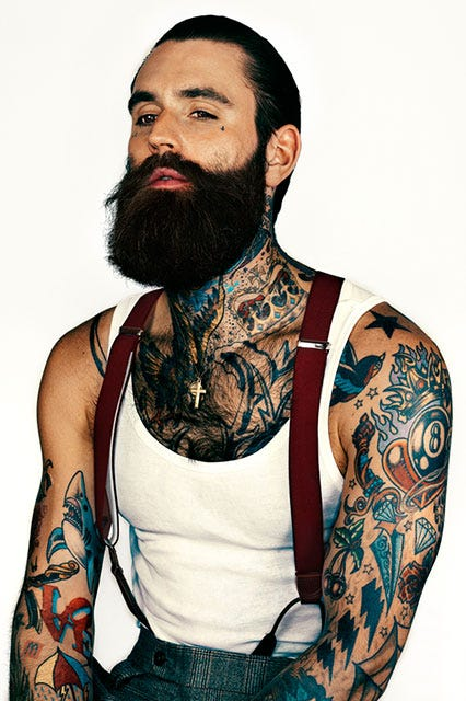 Male models grooming routines best grooming products for Cetaphil moisturizing cream for tattoos