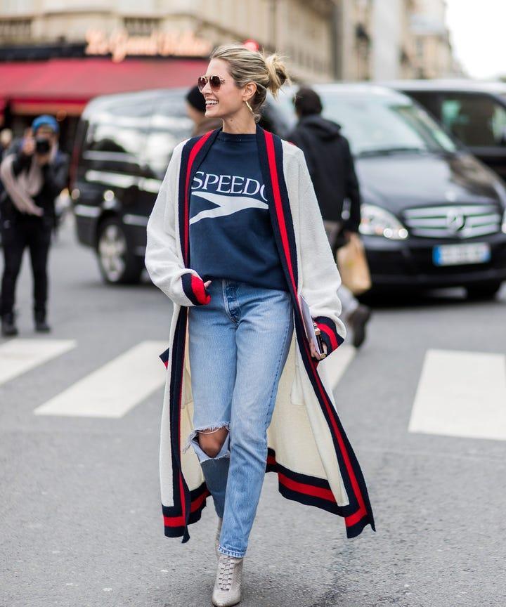 Long Cardigan Sweaters Fall 2017 Trend