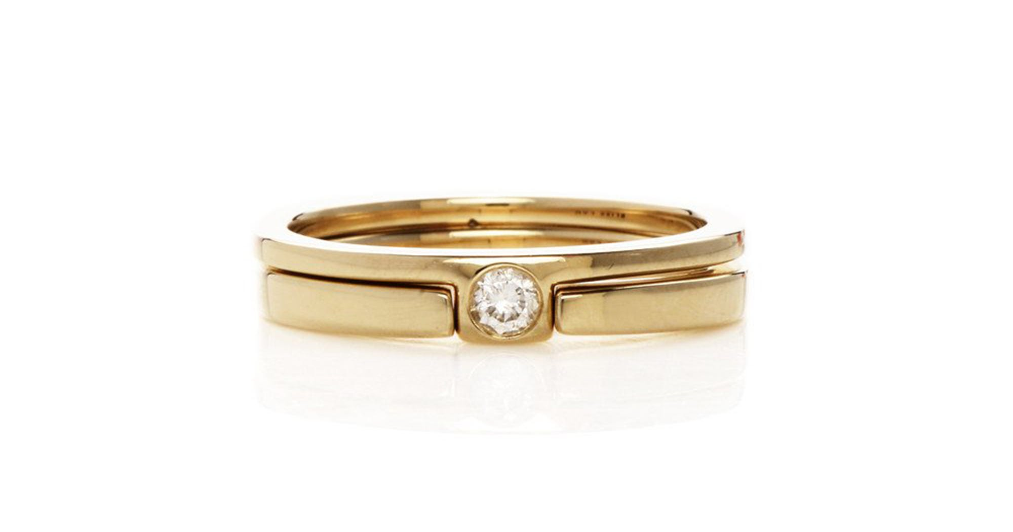Minimalist engagement rings simple design bands for Wedding ring minimalist