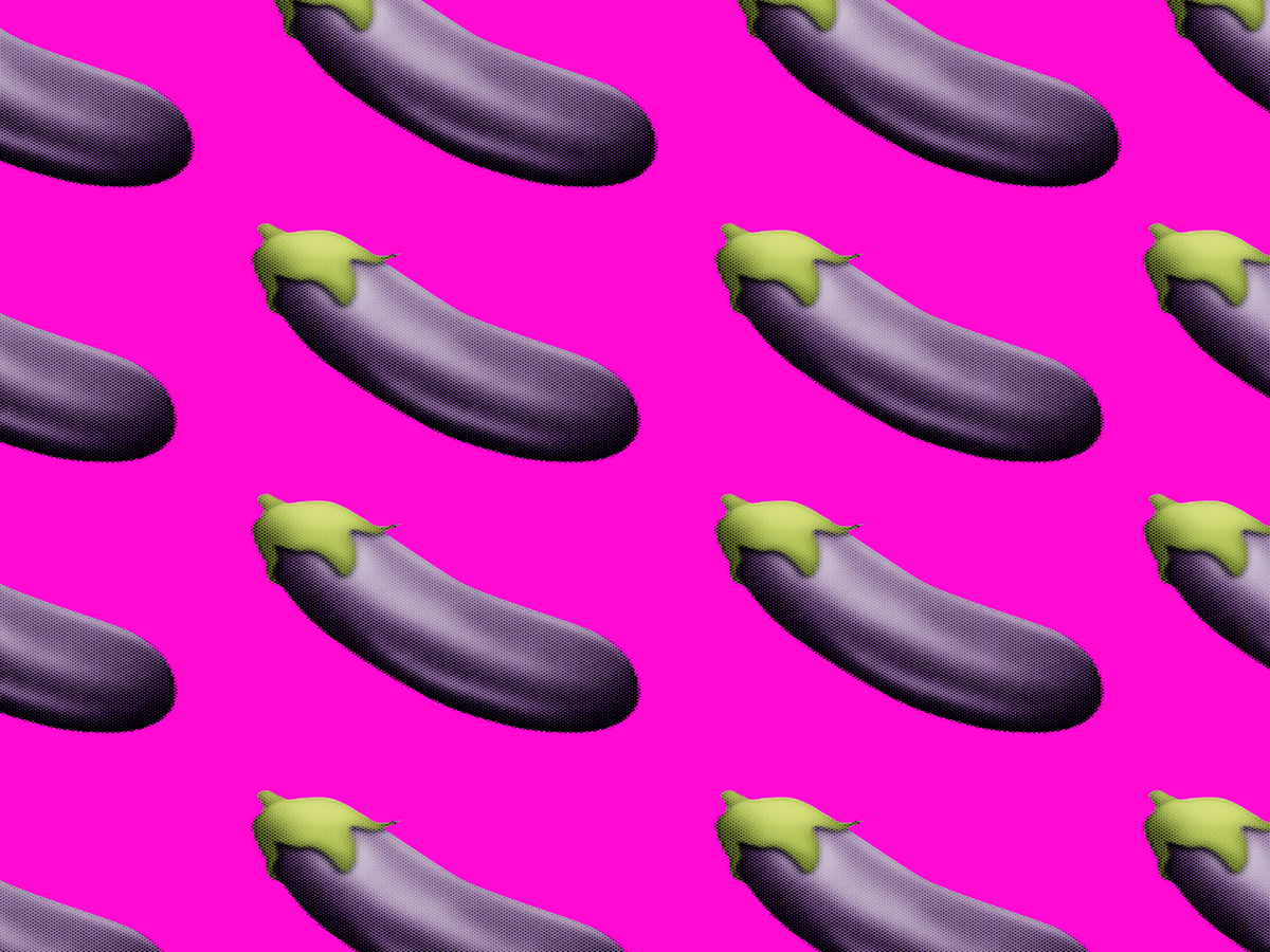 Emoji terong (egg-plant)