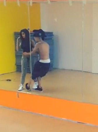 Justin Bieber & Selena Gomez Get Their Dirty Dancing On