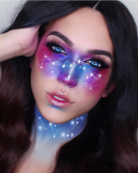 Cool Halloween Makeup Ideas Easy DIY Instagram Photos - Cool Easy Makeup Ideas