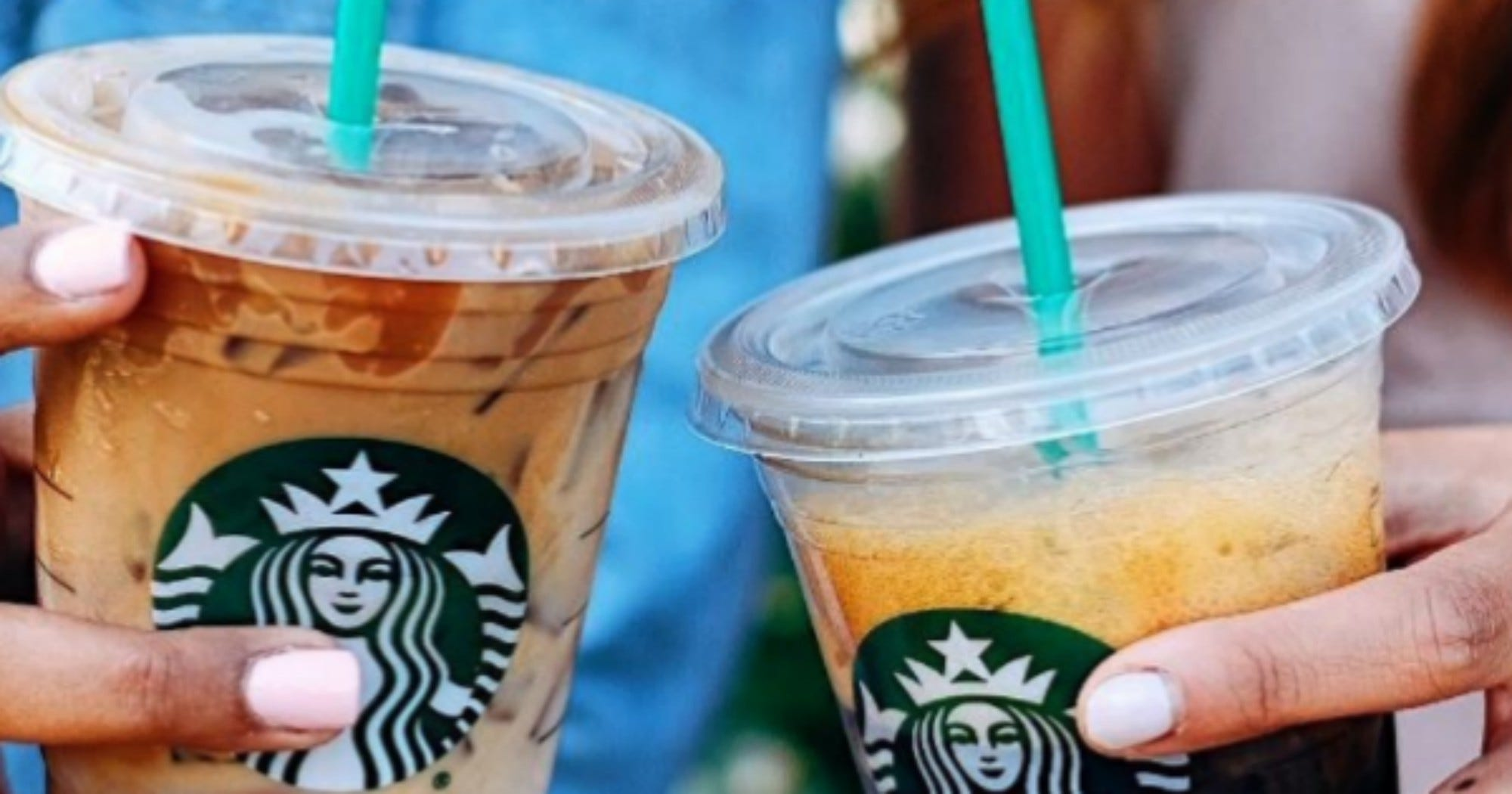These Two New Starbucks Drinks Will Change The Way You Drink Iced Coffee