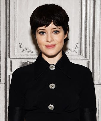 Claire Foy Blonde Brunette Hair Color Difference