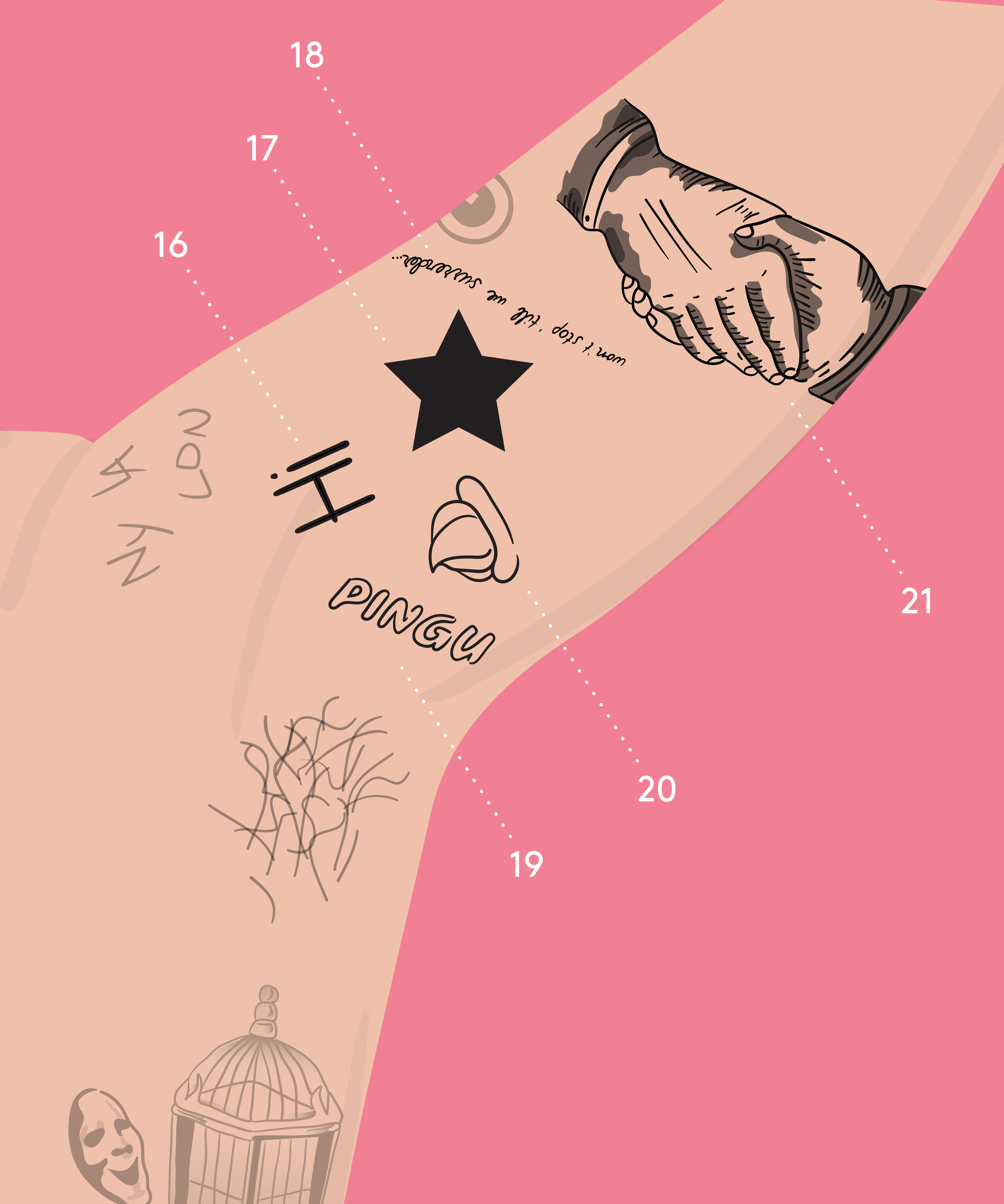 A Comprehensive Guide To Harry Styles' Tattoos - Blogs ...