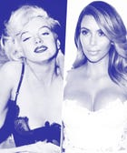Why Do People Keep Comparing Kim K. To Marilyn?