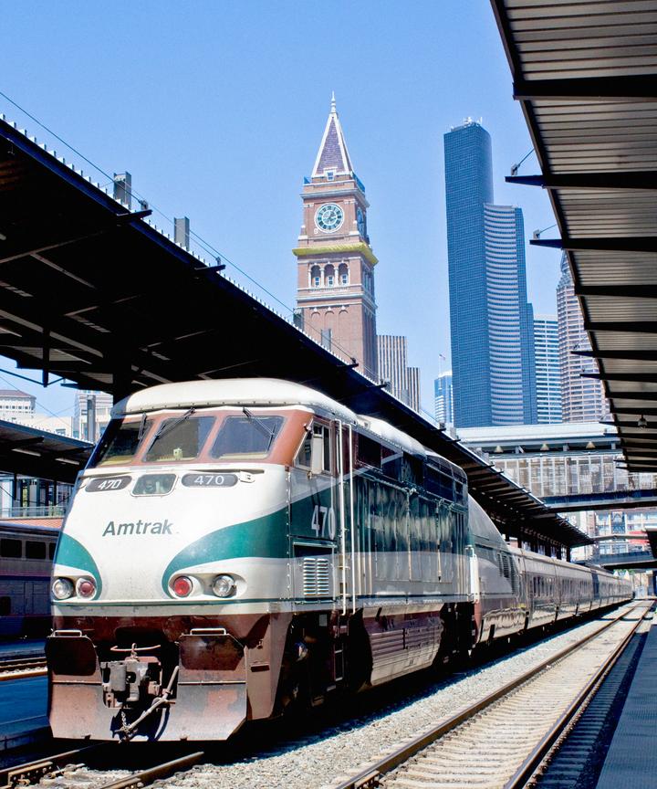 Coast Starlight West Coast Train Ride Deal Amtrak