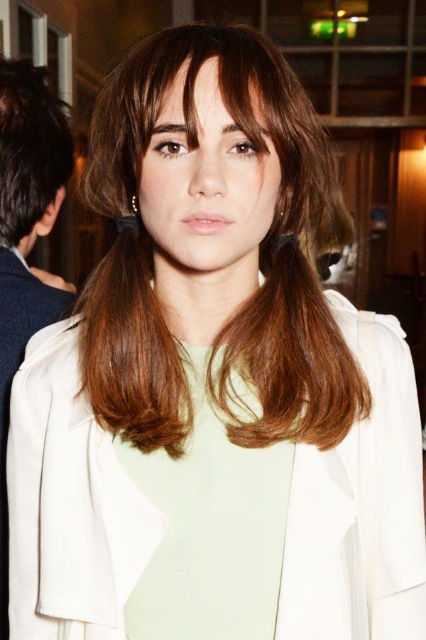 Suki Waterhouse Pigtails Celebrity Hair Trends