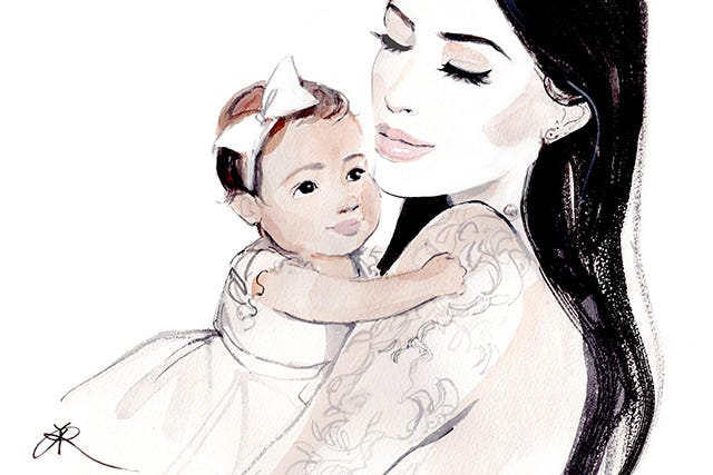 Kim Kardashian On What It's Really Like To Be A Mom