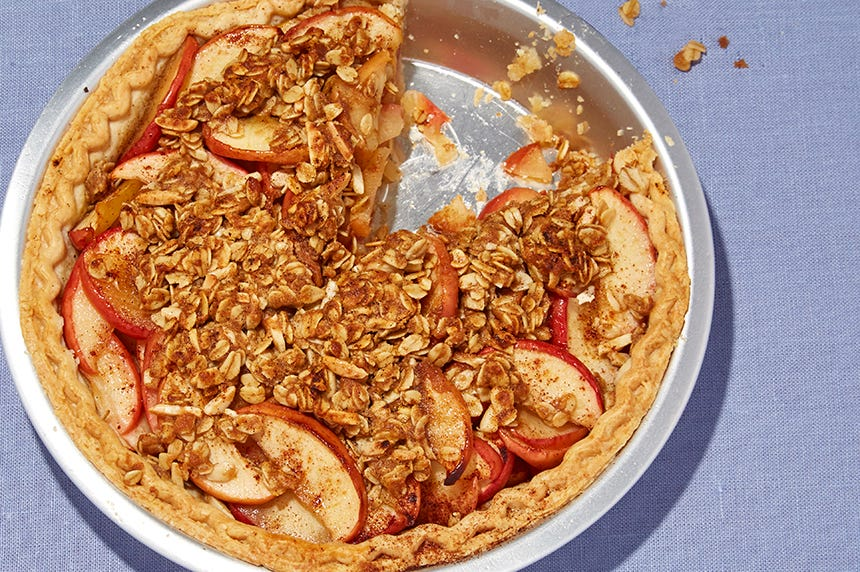 Thin-Crusted Apple Tart With Chipotle Chili Powder Recipe — Dishmaps