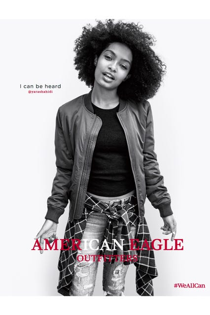 american eagle outfitters we all can campaign