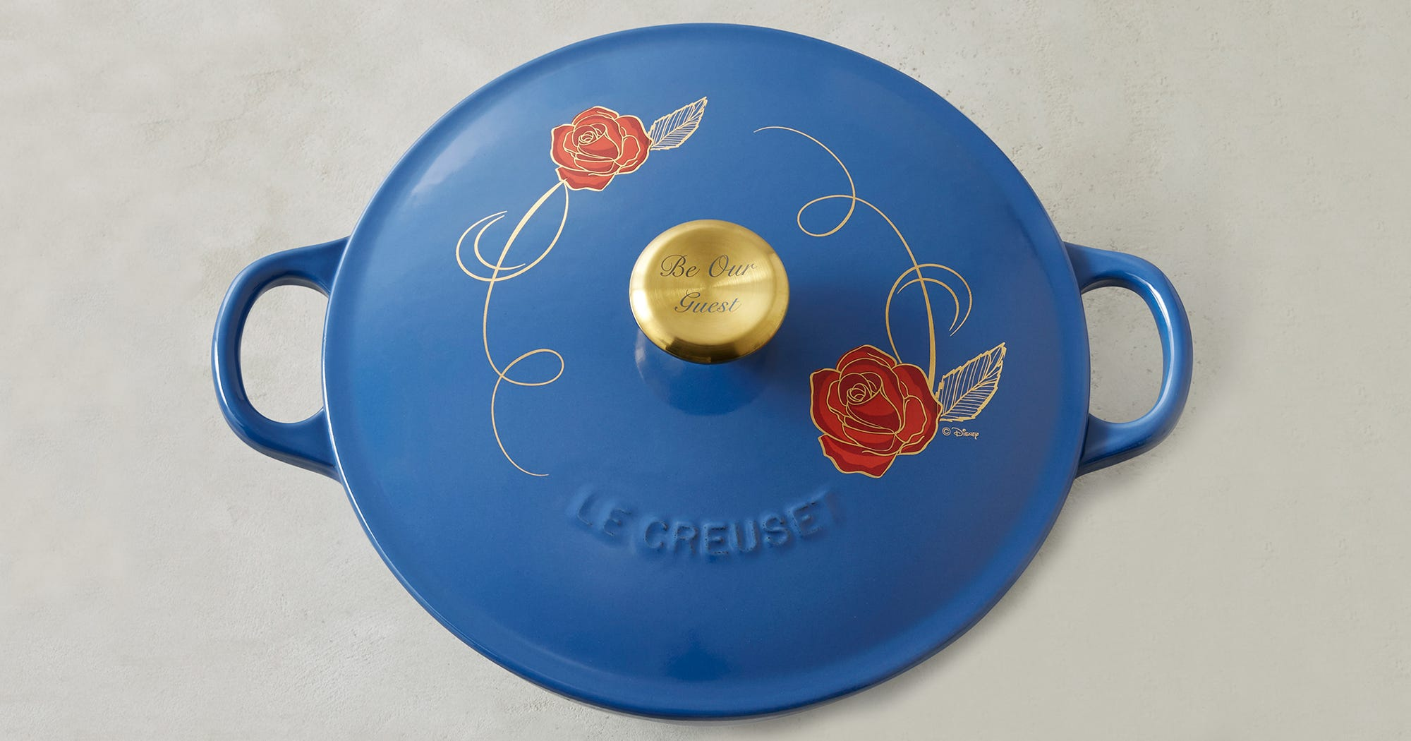 Williams Sonoma Beauty And The Beast Le Creuset Pot