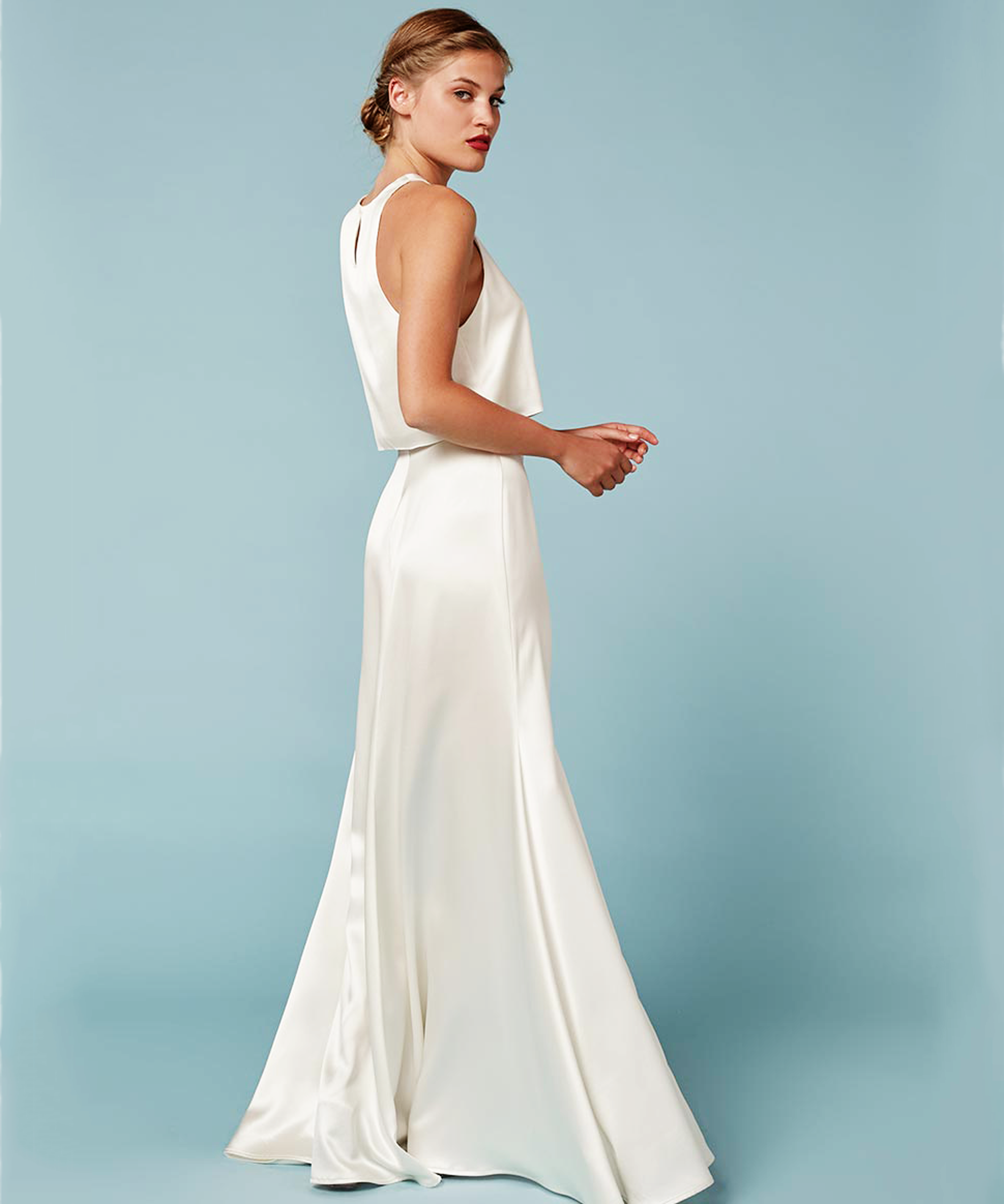 Reformation wedding dress affordable wedding dresses for Second wedding dresses not white