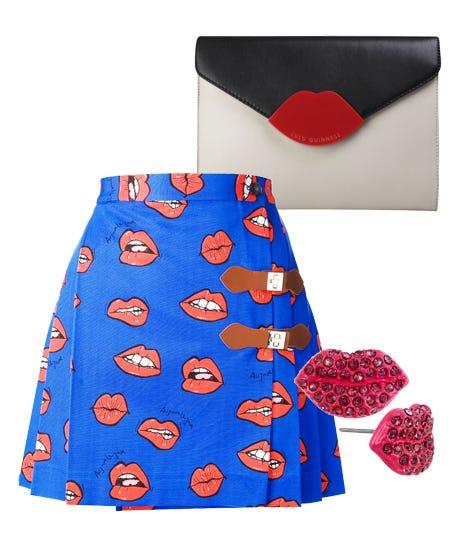 Lip Print Clothing