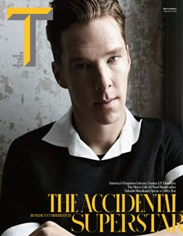 "Benedict Cumberbatch: ""I Am So Ready To Play A Really Dumb Character"""