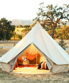 S.F.'s Glamping Gurus Show Us How To Entertain Outside In Style!