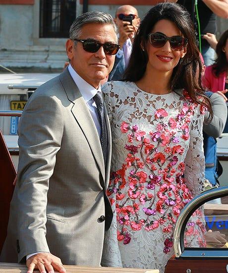 George Clooney Amal Alamuddin Married Wedding Details