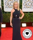 Amy Poehler On Her Globes Win & Kissing Bono