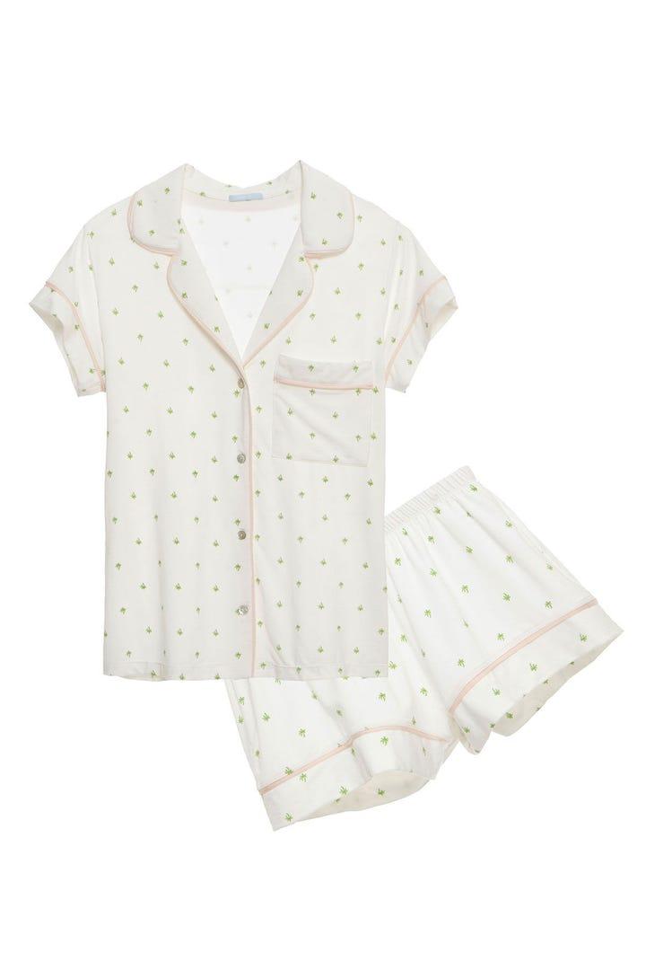 Cute Pajamas Womens Sleepwear Boxers Sets Nightwear