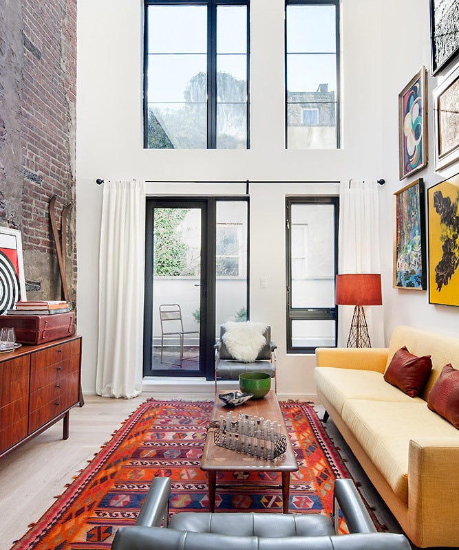New York Loft Rentals: Small New York Apartments For Rent
