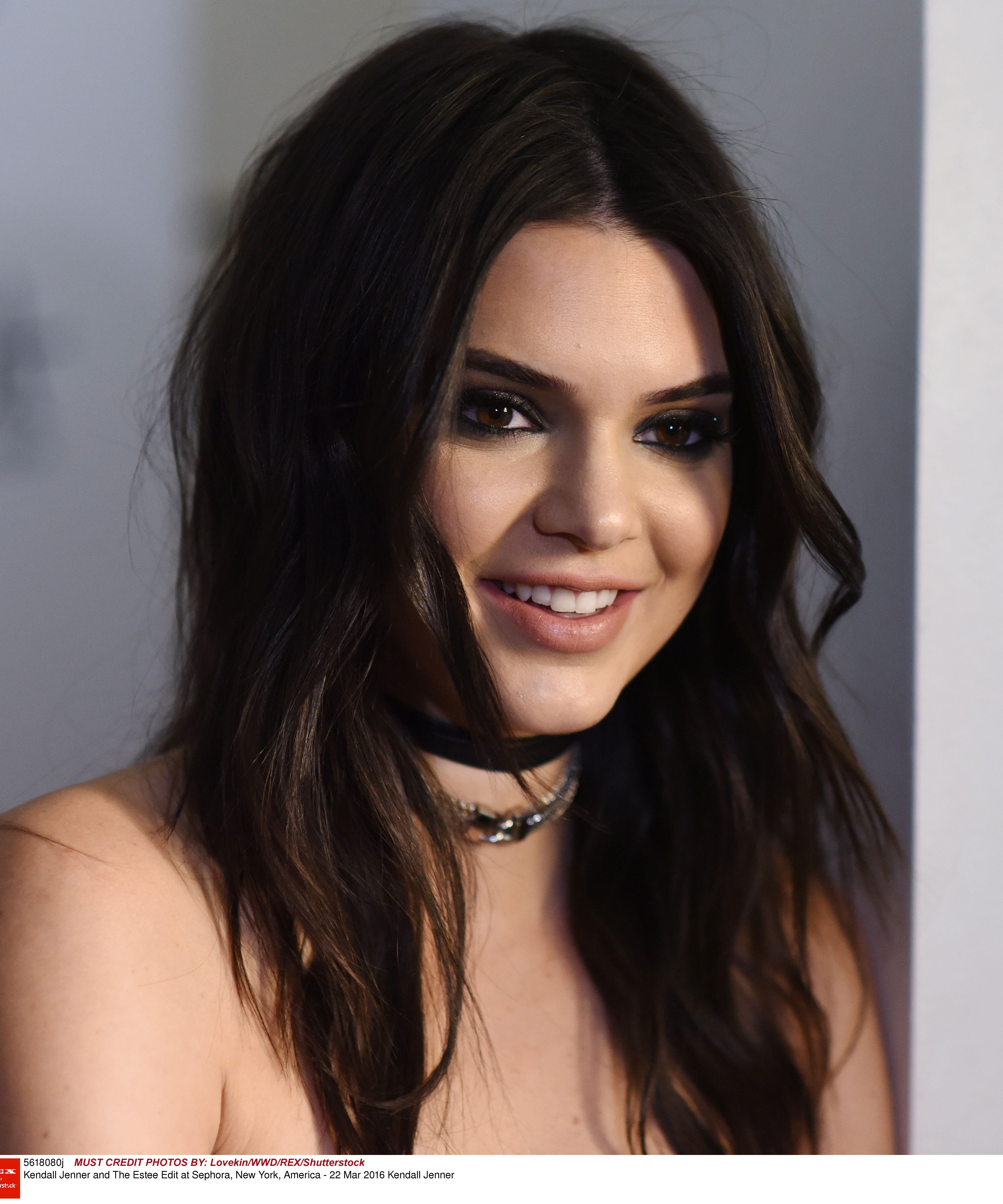 Kendall jenner no makeup