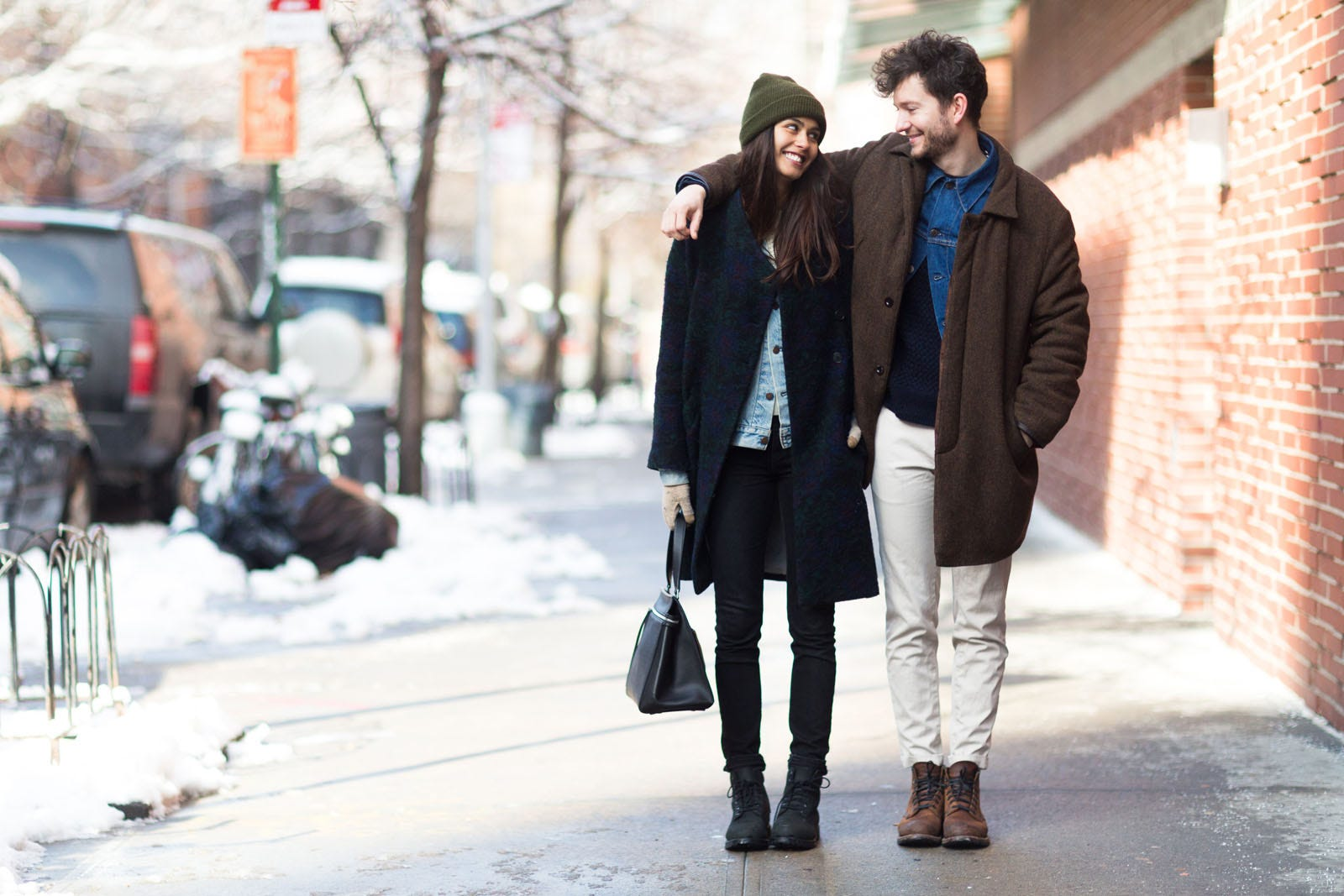 stylish couples street style nyc 2014