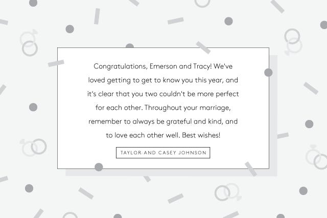 How To Write A Wedding Gift Message : What To Write In Wedding CardsGreeting Card Tips