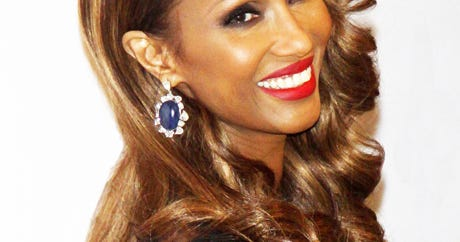 iman hair makeup pictures  accessories council awards