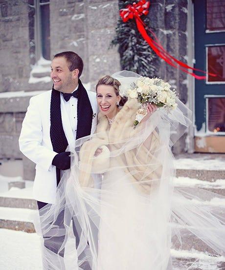Winter Wedding Ceremony Ideas: Winter Wedding In The Snow