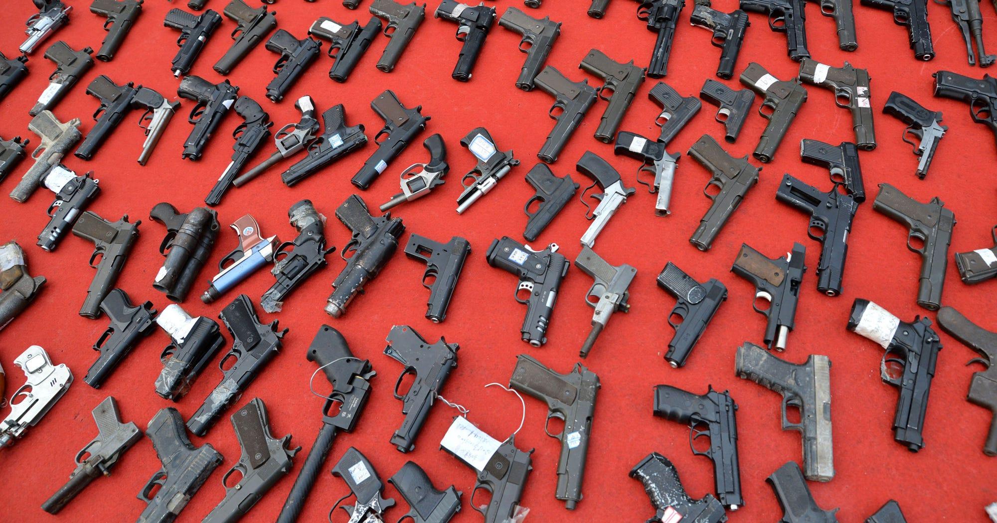 black friday gun sales record. Black Bedroom Furniture Sets. Home Design Ideas