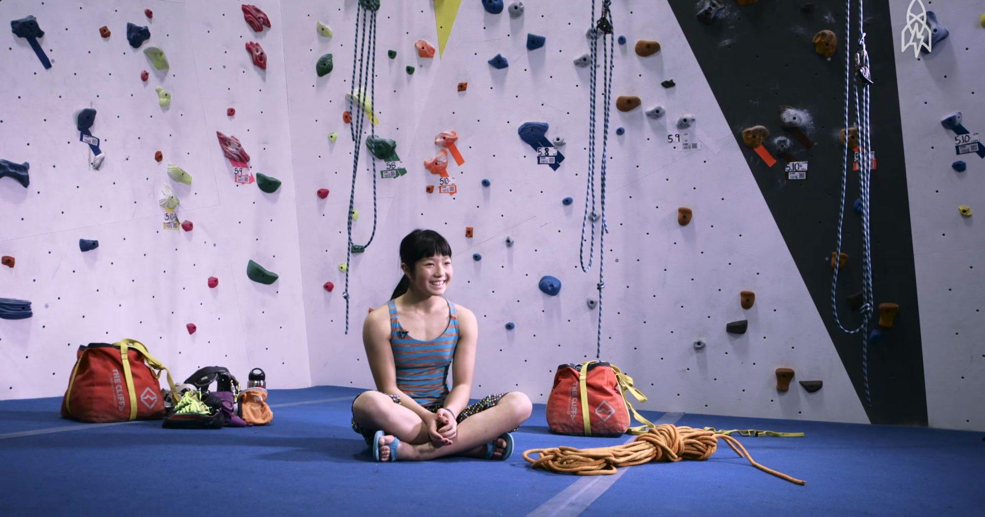 Ashima Shiraishi Best Woman Rock Climber
