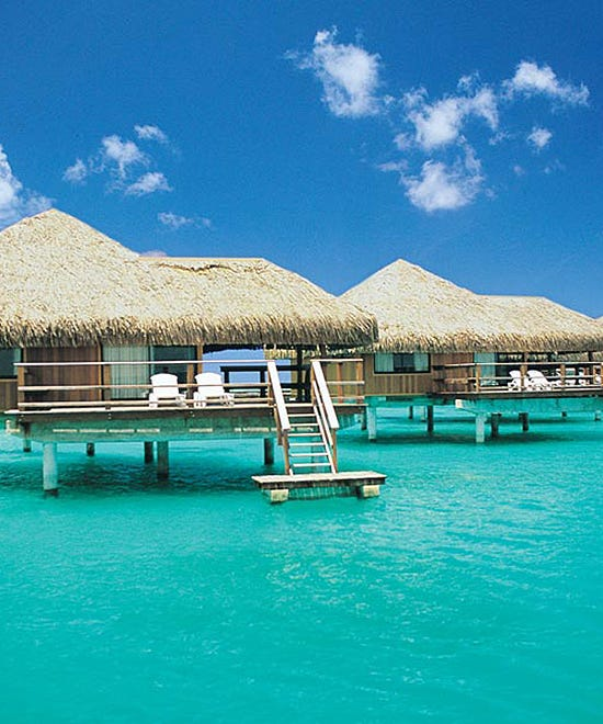 Overwater vacation bungalow rentals for Cheap us beach vacations