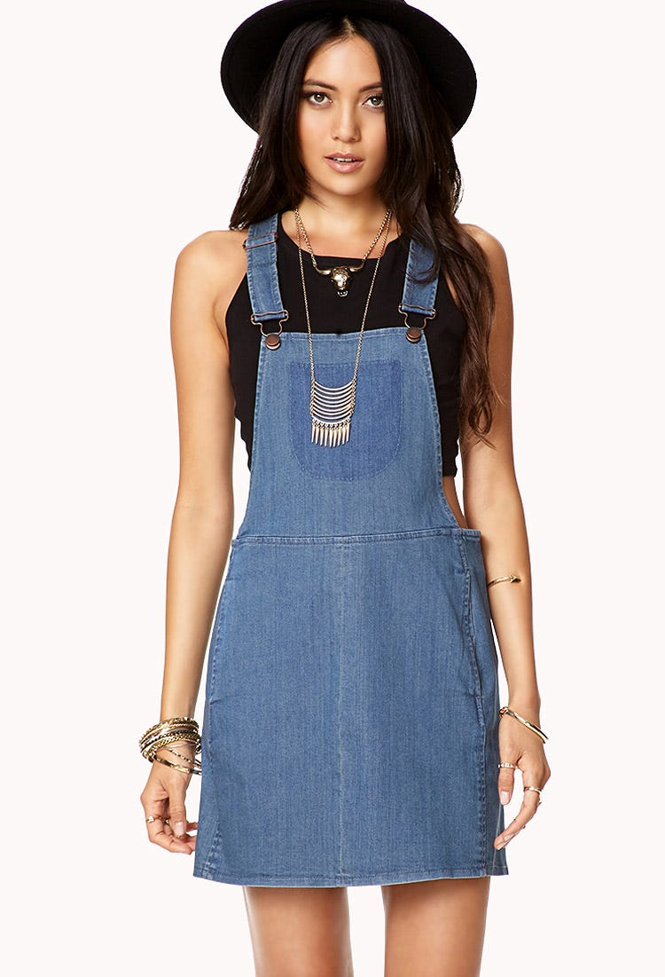 Forget Pants! The Overall Dress Is Having a Moment