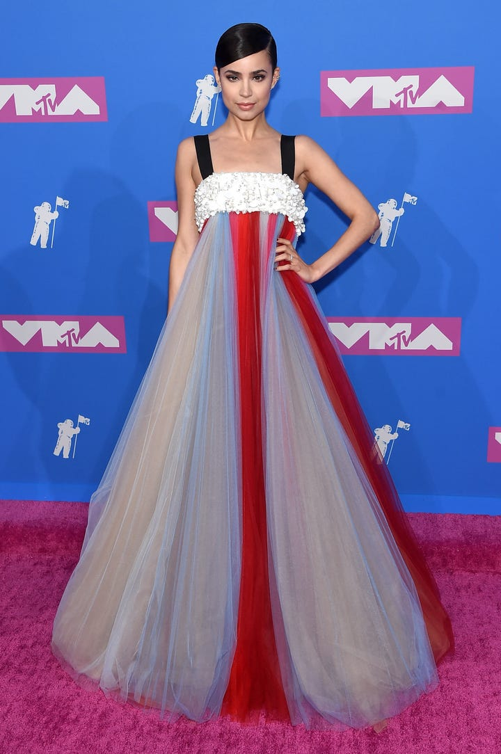 Vmas 2018 Best Dressed Celebrities On Mtv Red Carpet