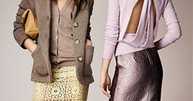 Is It Just Us, Or Is Burberry Resort '14 Prim & Saucy, All At Once?