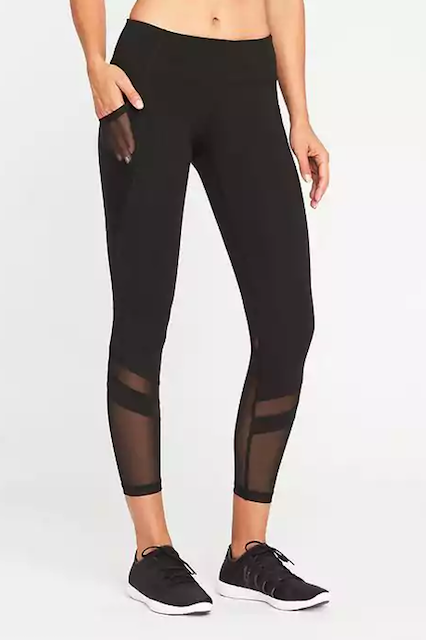 Best Leggings With Mesh Sexy Yoga Pants Gym Outfit