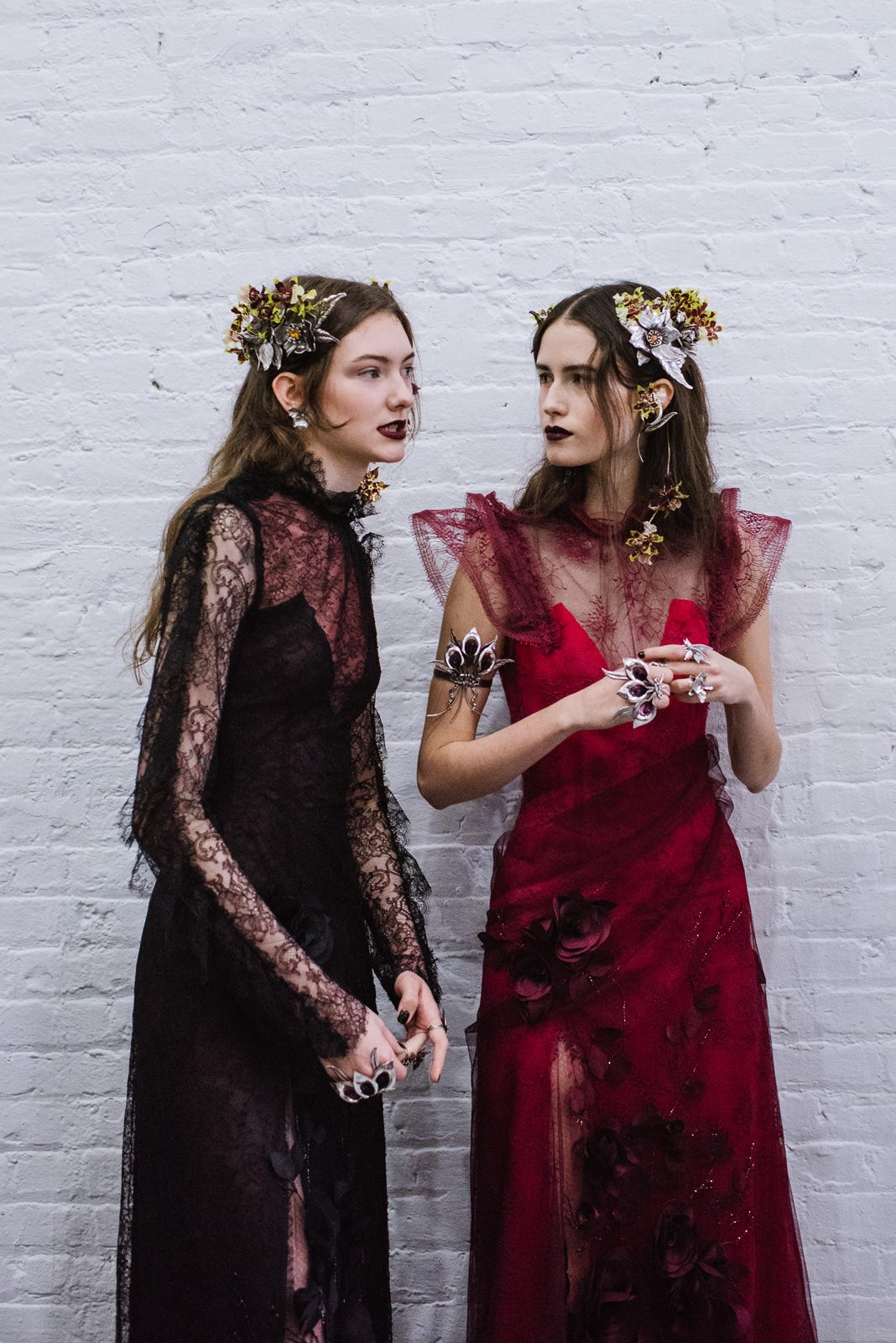 Rodarte Flower Crowns Fall 2016