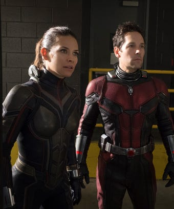 Ant Man and the Wasp, Paul Rudd Evangeline Lily