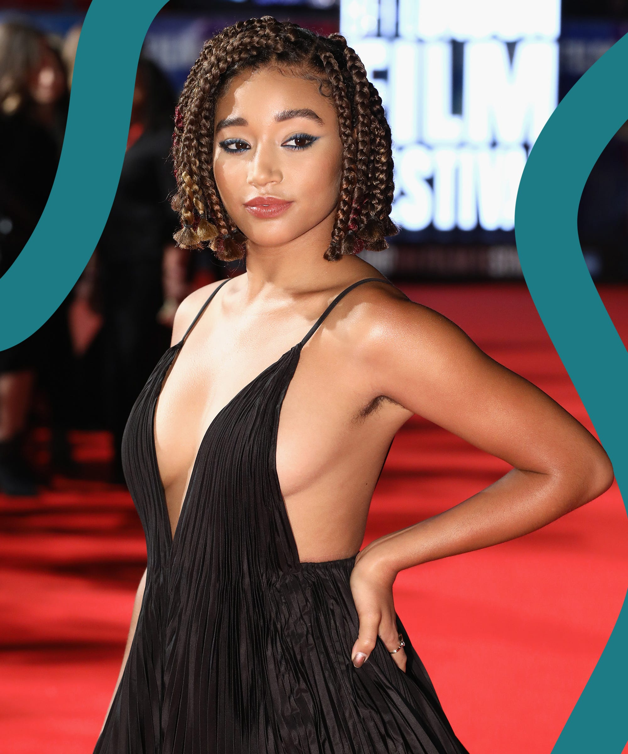 Amandla Stenberg Declares That Armpit Hair Belongs On The Red Carpet