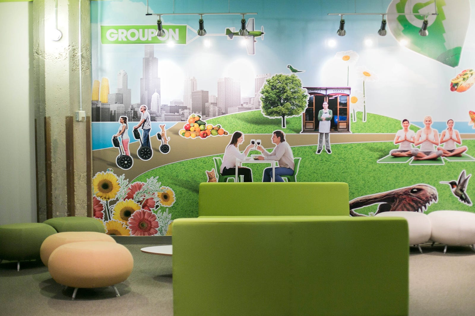 Groupon office chicago headquarters
