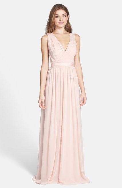 Erin Fetherston Sandrine Embellished Chiffon Gown