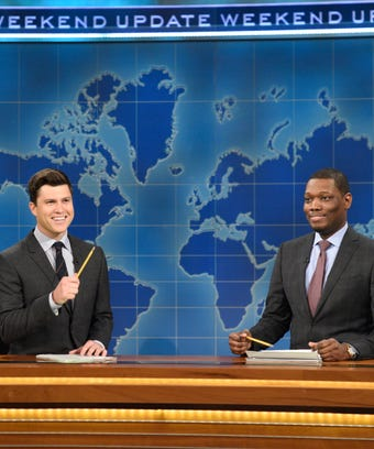 Michael Che and Colin Jost on SNL