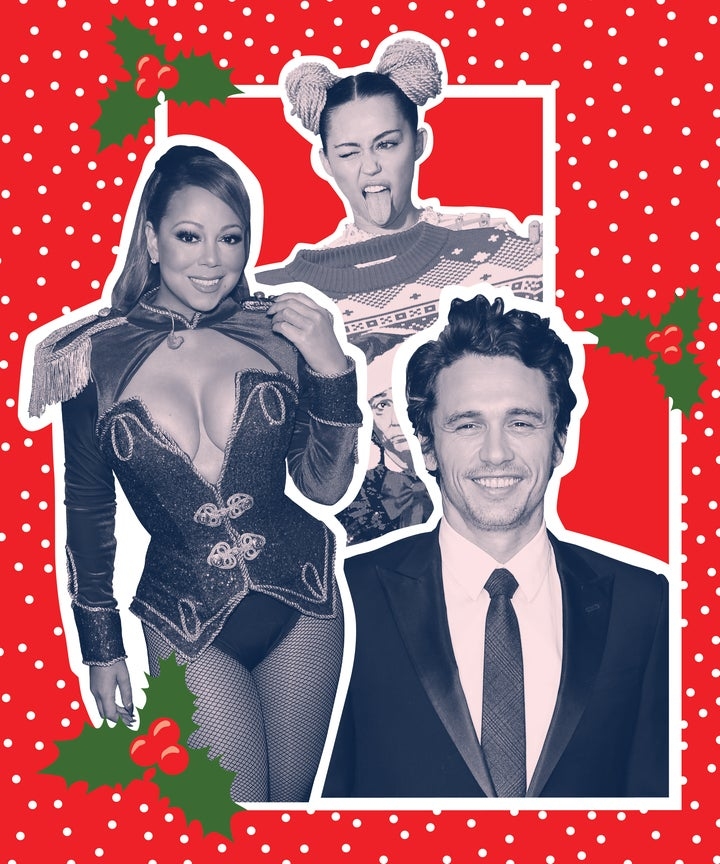 Celebrity Christmas Cards Best And Worst Family Photos