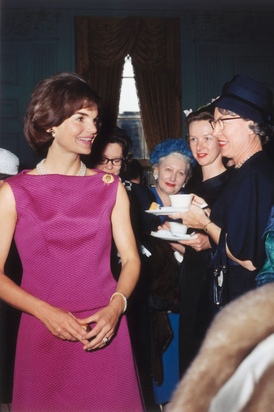 Jackie Kennedy Fashion Colorful Style New York