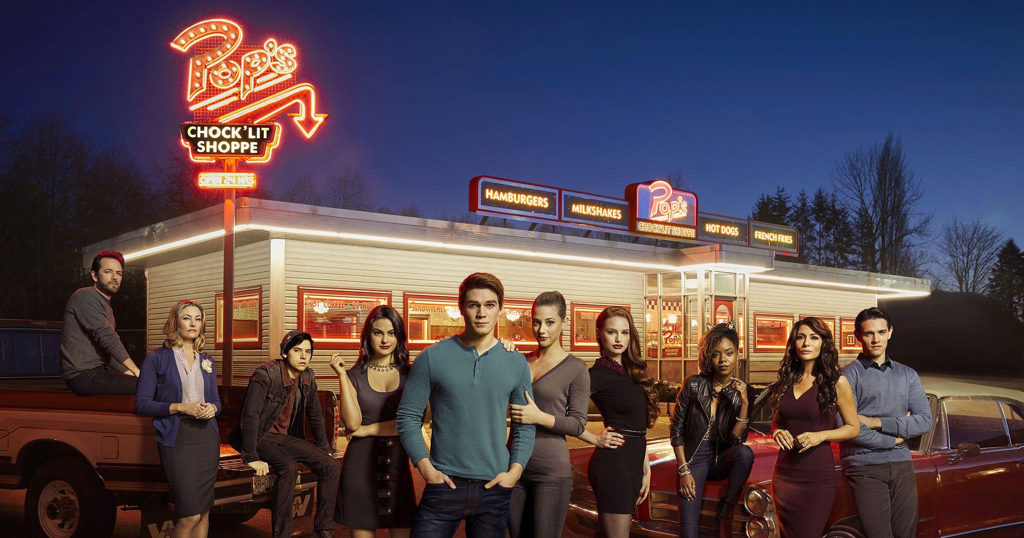 Rockos Diner Real Pops Chocklit Shoppe Riverdale