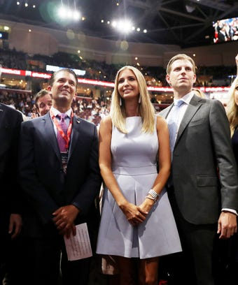 ivanka donald don jr eric trump