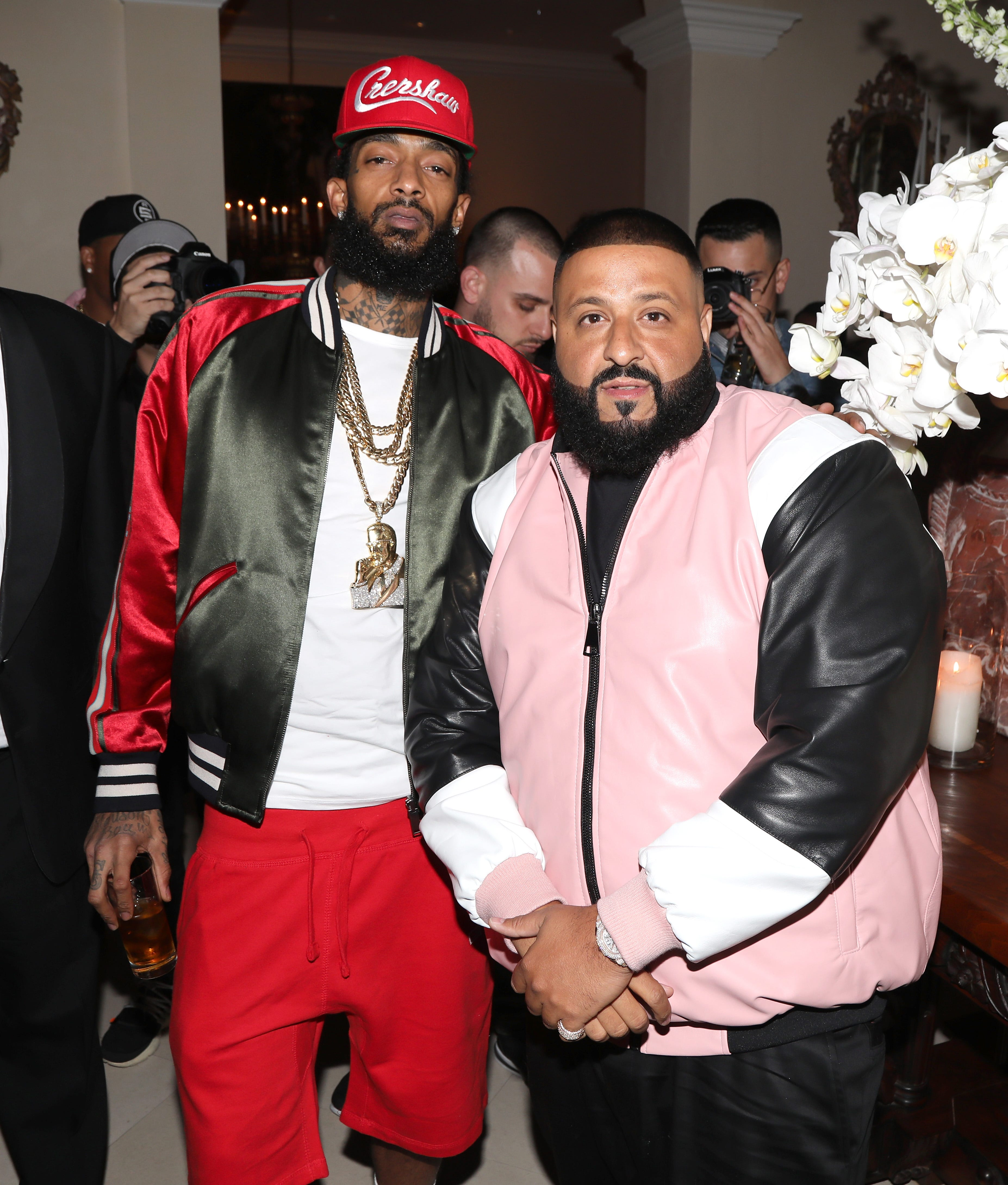 """DJ Khaled Is Donating 100% Of Proceeds Of New Song """"Higher"""" To Nipsey Hussle's Children"""
